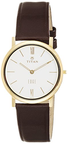 Titan Edge Analog White Dial Men's Watch - NE679YL01  available at amazon for Rs.7934
