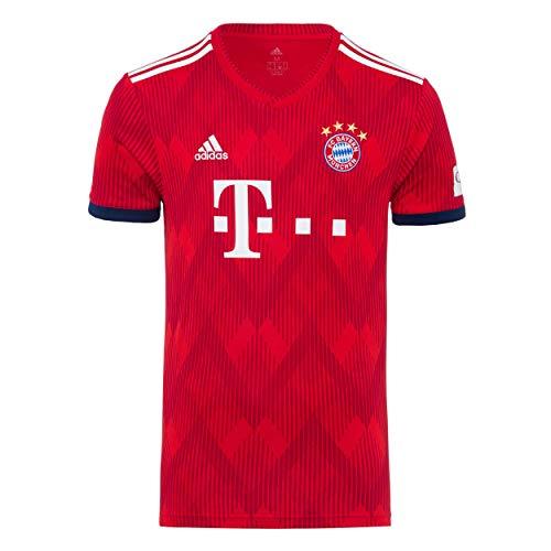 FC Bayern München Trikot Home, Lewandowski, Rückennummer mit Unterschrift auf Flock, Jersey 18/19 Größe XXL