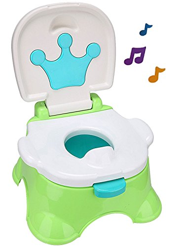 Pot Pot Educatif Evolutif Potty avec musique de toilettes schemel