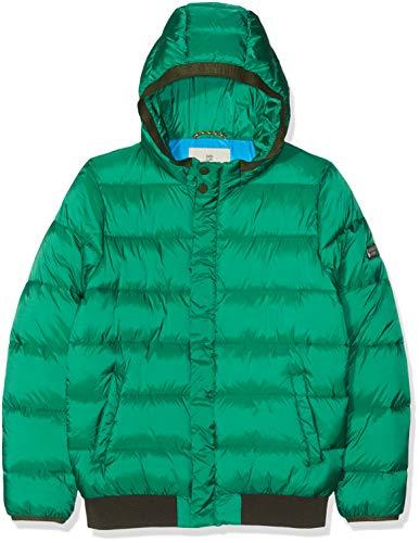 Scotch & Soda Jungen Padded Jacket with Hood Jacke, Grün (Boxing Green 3159), 152 (Herstellergröße: 12)