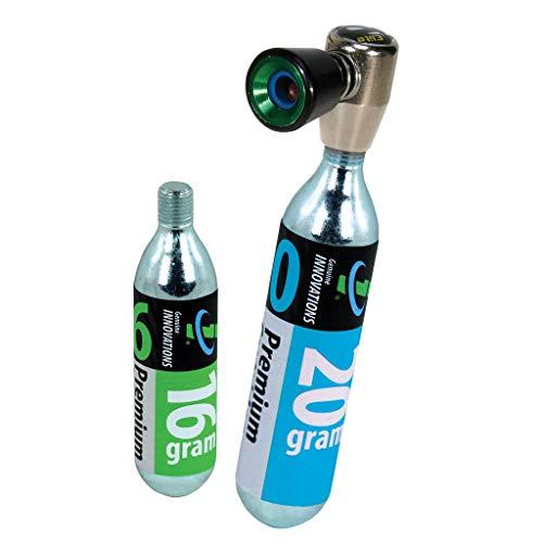 Genuine Innovations Unisex Ultraflate Cupped CO2/Inflator Taglia Unica Multicolore
