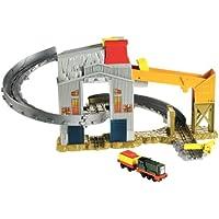 Thomas & Friends Take-n-Play Twist 'N Tumble - Depósito de carga con tren de juguete