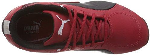 Puma Kinder Drift Cat 5 Rot Ferrari Leder Sneaker Red