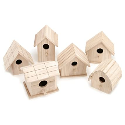Assorted Wood Birdhouse