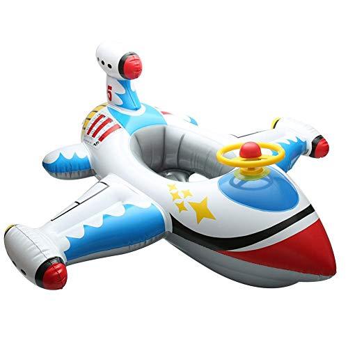 Schwimmring-Flamingo/Flugzeuge/Schwan Luftmatratze Riesiger Aufblasbarer Einhorn Schwimmsitz Kinderbecken Schwimmring Spielzeug Schwimmreifen Pool Spielzeug Floß Schwebebett Wasserspielzeug