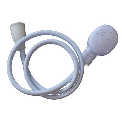 Multifunktions-Handbrause mit Slip-On-Ausgussbad und Shampoo-Spray-Hahn zum Duschkonverter für Dusche-Haustierbad (Delta Mit Bar Handbrause)