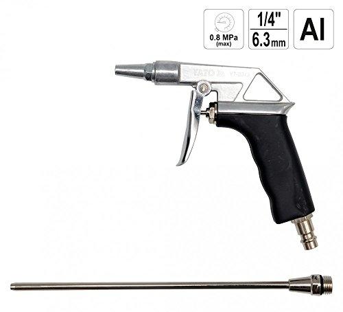 Kompressor Für Luft Druckluft-werkzeuge (Druckluft Ausblaspistole Druckluftpistole Blaspistole 1/4 Zoll mit Verlängerung 125 mm)