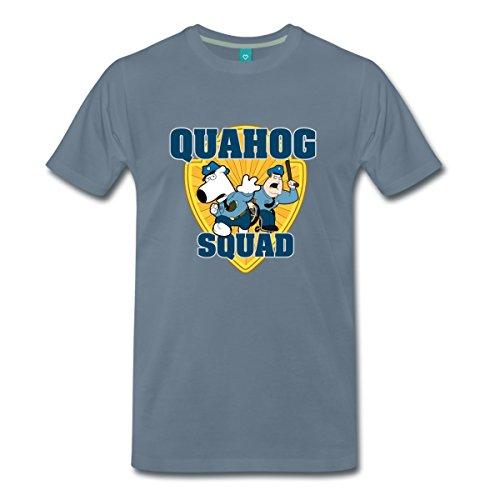 les-griffin-family-guy-quahog-squad-t-shirt-premium-homme-de-spreadshirt-4xl-gris-bleu