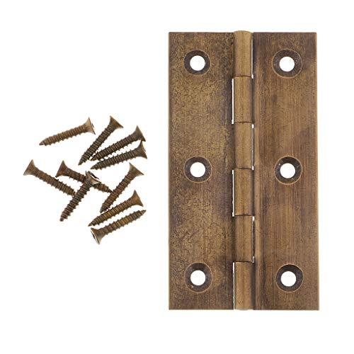 Schmuckkästchen Möbelband Möbelbänder Möbelscharniere Scharnier Truhenband Türband - Antike Bronze