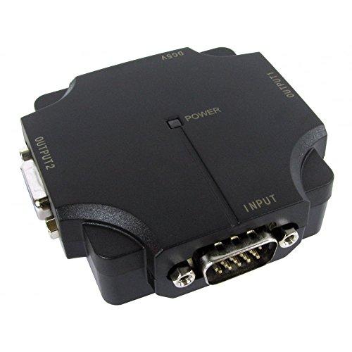 bluecharge Direct Newlink Way SVGA VGA Splitter Compact Micro Box 500MHz (Usb Powered Vga-splitter)