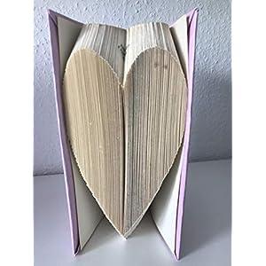 Gefaltetes Buch: Herz