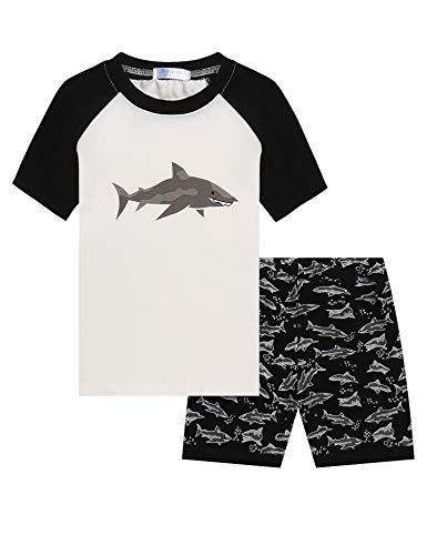 Baumwolle Kleinkind Kleidung (Bricnat Kinder Dinosaurier Pyjamas Sets Kinder Kleidung Set Jungen Baumwolle Kleinkind Pjs Nachtwäsche 100)