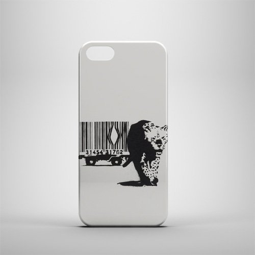 Fresh Cases Banksy Leopard iPhone 5/5S Fall (5 Leopard-fall Iphone)