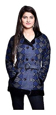 Pilot Full Sleeve Coat Style Woolen Women Cardigan