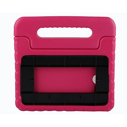 Preisvergleich Produktbild Kinder Hülle für Samsung Galaxy Tab E Lite 7.0, CAM-ULATA EVA Stoßfest Leichtgewicht Kinderfreundlich Griff Schutzhülle Standhülle für Samsung Galaxy Tab E Lite 7.0 Zoll Tablette 2016 Release, Rosa