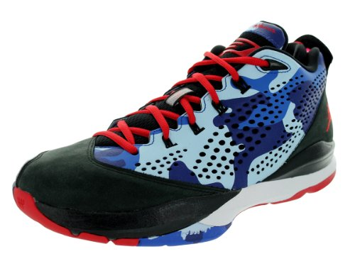 Nike Cp3 Vii Basketball Chaussures Taille Black/Sprt Rd/Chmbry Bl/Gm Ryl