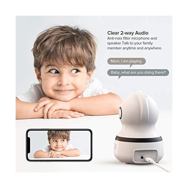 OWSOO-1080P-Telecamera-di-Sorveglianza-WiFi-Videocamera-IP-Wireless-Interno-Audio-Bidirezionale-Visione-Notturna-Rilevamento-Movimento-Allarme-via-App-Baby-monitor