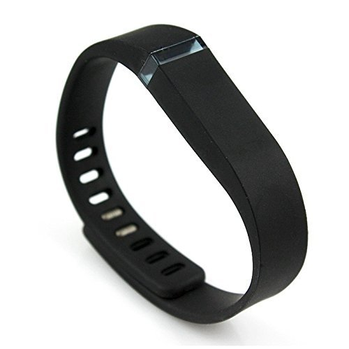 Felix Watch Strap Wristwatch Bands Wristband for Fitbit Flex Black