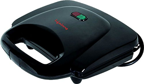 Lifelong LLSM118G 750-Watt 4-Slice Grill Sandwich Maker (Black)
