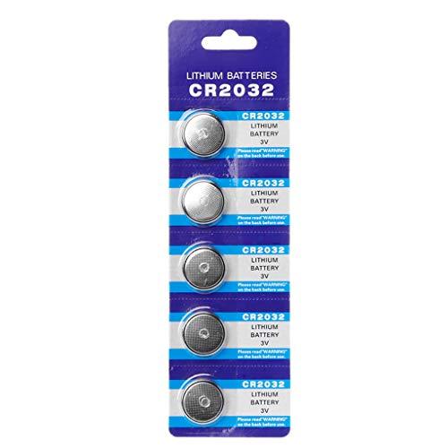 5 pilas de botón de 3 V CR2032 BR2032 DL2032 ECR2032 batería de litio batería de ion de litio para promoción, reloj de ordenador, luz LED, mando a distancia electrónico