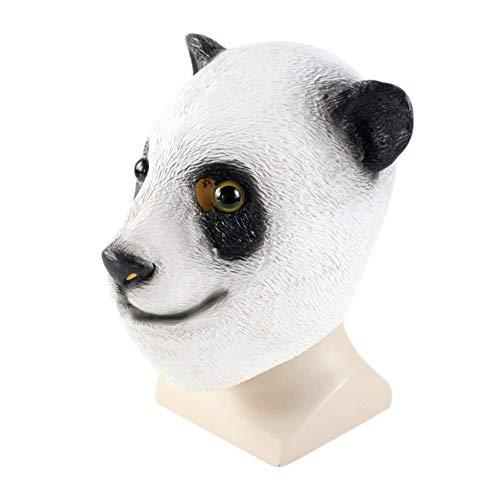 Alexsix Halloweenmaske, Herren-Kostüme, Requisitenkopf, Formgebung für den Ganzen Kopf, Panda-Masken