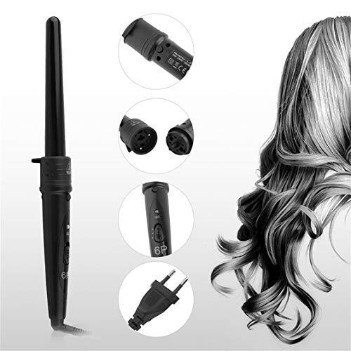 Professionelle 6-in-1 Elektrische Lockenwickler Schnelle Lockenstab Keramik Lockenwickler Haarstab Styling Werkzeug für Salon