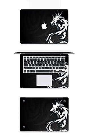 Macbook Autocollant Chickwin 12 pouces Retina Macbook Apple Notebook Color Cover Modle A1534 Notebook Shell Stickers Trois côtés (Shell + poignet + fond) (D2)