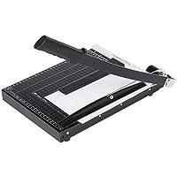 Voluker Massicot A4 Coupe Papier 12 Feuilles 30,5cm Pour Office Bureau, Noir