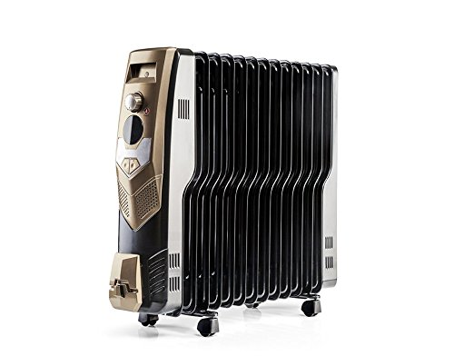 Usha OFR 3613 FW Oil Filed Radiator (Black)
