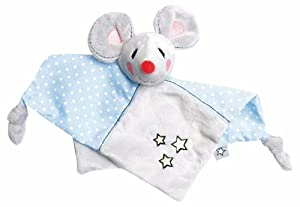 ZEWI bébé-jou 3078_53 Toalla de bebé - Toallas de bebé (Azul, Gris, Color Blanco, Algodón, Poliéster, Pattern)