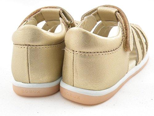 Oro In Play Bobux Chiuso 625915 Velcro Walk I Sandalo Pelle Bambina QCxBhtrsd