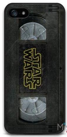 Coque Iphone 5 ou 5s ou SE Vintage VHS Film Star Wars