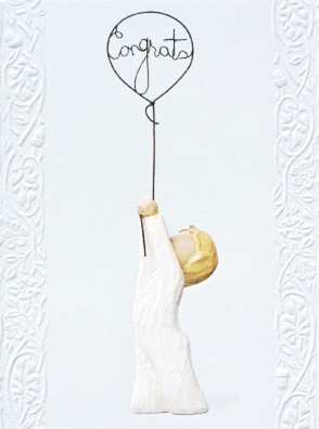 Susan Lordi Willow Tree Congratulations - Herzlichen Glückwunsch | Karte Willow Tree kle