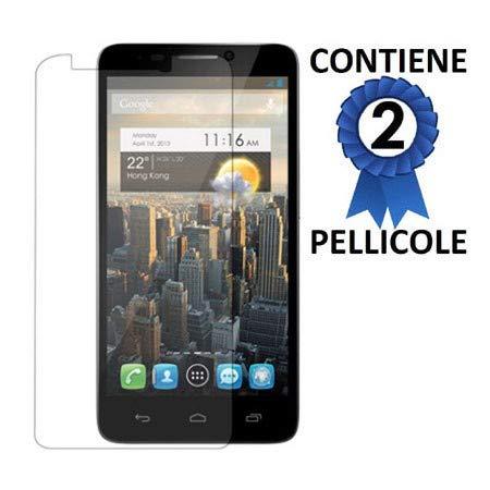 Pellicola proteggi display per alcatel one touch idol 3 - 4.7' pollici, ot-6039x confezione 2 pezzi