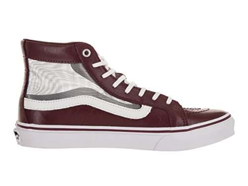 Vans Sk8-Hi Slim Classic mesh port true white Rot (mesh/port/true White)