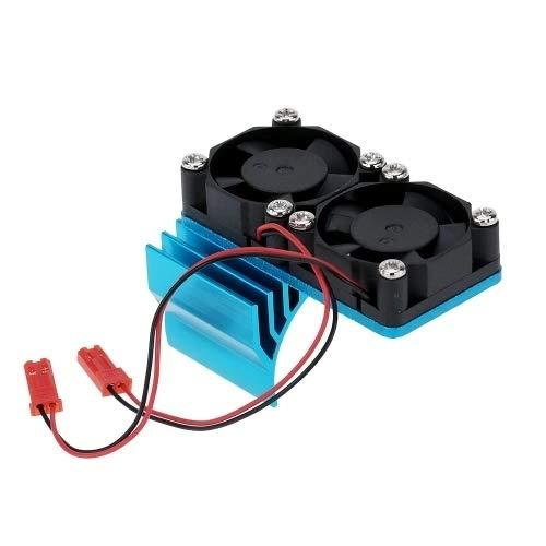 rkühlkörper mit Zwei Kühlgebläsen für 1/10 HSP RC Car 540/550 3650 Motor ()