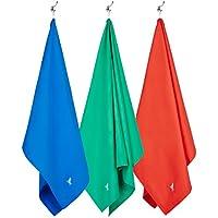 Microfibra grande palestra, yoga, viaggi asciugamani (Rosso - 200x90cm)