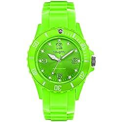 Zeigt Damen mit Swarovski Kristallen Silikon Grün 28