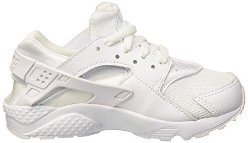 Nike White / White-Pure Platinum, Baskets Basses Mixte Bébé, Blanc Blanco (White / White-Pure Platinum)