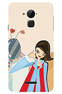 TREAT Call Me 3D Back Cover for Coolpad Note 3 Plus