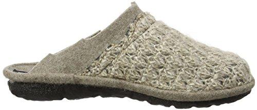 Romika Damen Mikado 97 Pantoffeln Beige (Beige-Kombi 201 201)