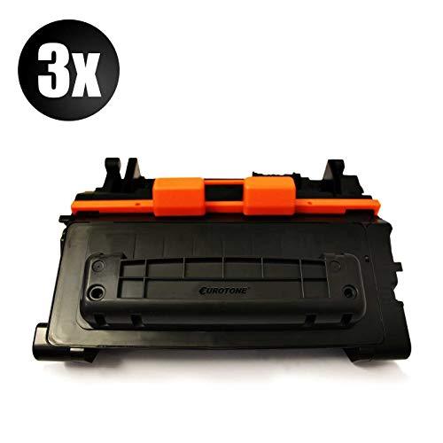 3X Eurotone Remanufactured Toner für HP Laserjet P 4011 4012 4014 4015 4016 4017 4514 4515 4516 4517 A X x NW TN DN DN TN N n ersetzt CC364A 64A