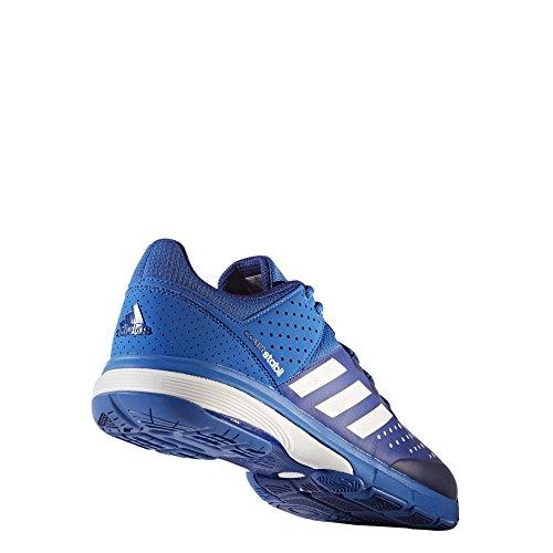 adidas Herren Court Stabil Handballschuhe Mehrfarbig (Blue/ftwr White/mystery Ink F17)