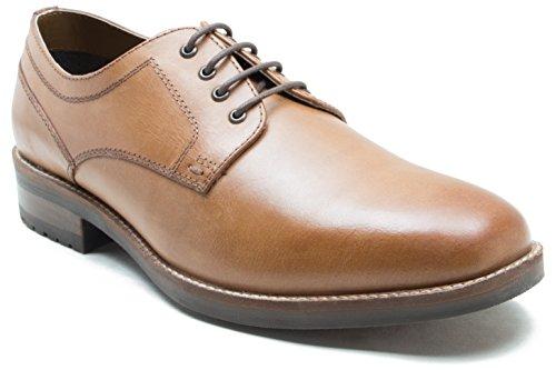 Red Tape Chaussures elcot Marron Clair Vamp 4 Chaussures en Cuir Gibson