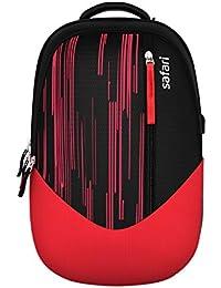 Safari 30 Ltrs Black Casual Backpack (MOOVEUSB19CBBLK)