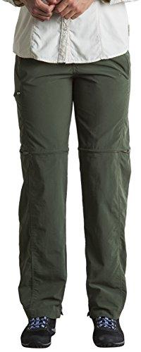 ExOfficio Women's BugsAway Sol Cool Ampario Convertible Hiking Pants, Petite Cool Convertible Pant