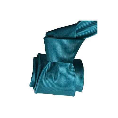 Clj Charles Le Jeune - Cravate Clj, Calvi, Bleu Turquoise