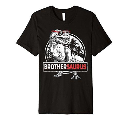 brothersaurus T Shirt T Rex Brother Saurus Dinosaurier -