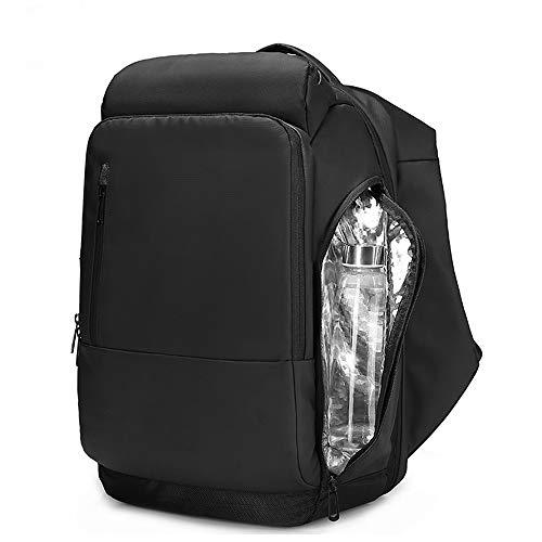 Btzdb zaini zaino da 17 pollici per computer portatile zaino funzionale idrorepellente per uomo con zaini da viaggio porta usb maschio