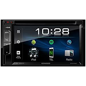 Kenwood DDX318BT CD/DVD Receiver with Built-in Bluetooth, 6.2 Inches